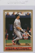 1998 TOPPS MARK McGWIRE CARD