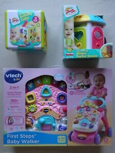 Baby's Electronic Activity Cube, Carry Along Shape Sorter House or Baby Walker