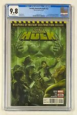 TOTALLY AWESOME HULK #22 Marvel Comics 2017 CGC 9.8 Weapon H 1st Full Appearance