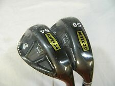 New Cleveland RTX 2.0 Black CB Wedge Set 54* SW & 58* LW Wedges STD Bounce