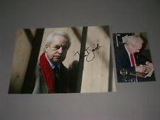 John Banville = Benjamin Black signed autograph Autogramm 8x11 photo in person