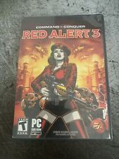 Command & Conquer: Red Alert 3 With Manual & Poster (PC DVD ROM)