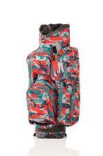 JuCad Bag Aquastop  - camouflage/rot - das wasserdichte Leichtgewicht, Neu!