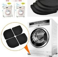 4x Washing Machine Shock Mute Pads Refrigerator Non-slip Anti Vibration Mats HQ