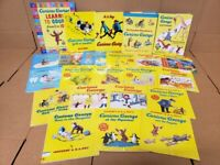 Lot of 10 Curious George Books Children Kids PB/HC H.A. Rey Random Unsorted MIX