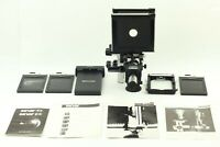 🔸N MINT🔸 Sinar C 4x5 45 Large Format Film Camera + Cut Holder PA-45 from Japan