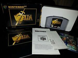 Nintendo ZELDA OCARINA OF TIME  (UK PAL VERSION) 100% Complete GREAT CONDITION