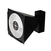Metal Airgun BB Gun Pellet Trap Catcher 14X14CM Shooting Paper Target Holder