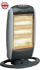 Halogen Instant Portable Electric Heater Free Standing Home or Office- 1200W