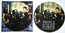 """NEW /  MINT! Prince & The New Power Generation Thunder 12"""" VINYL PICTURE DISC"""