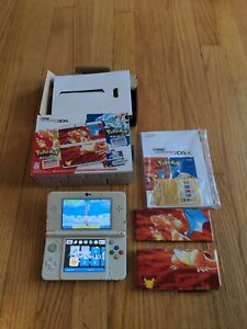 New Nintendo 3DS Pokemon 20th Anniversary Edition - Boxed + 4GB SD