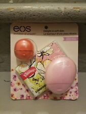 eos Pink Grapefruit Limited Edition Lip Balm Gift Set - BRAND NEW - sealed