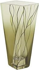 Badash Evergreen European Mouth Blown Glass Vase 8""