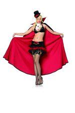 Sexy Vampire Queen Costume, Leg Avenue XS (6-8), Halloween, Cape, Delux