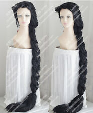 2016 new wig rapunzel tangled black hair Special thick twist braid Party wigs