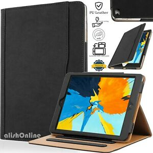 """Magnetic Leather Smart Flip Case For iPad 9.7"""" 2018-2017 Gen 6th/5th, Air 2 / 1"""