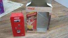Coca-Cola 55 STYLE POP VENDING MACHINE AM-FM RADIO
