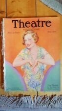RARE May 1929 Theatre Magazine w Ona Munson cover by Carl Noble