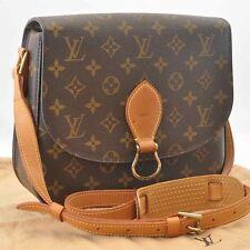 Auth Louis Vuitton Monogram Saint Cloud GM Shoulder Bag M51242 [No Sticky] #Y008