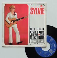 """Vinyle 45T Sylvie Vartan  """"Cette lettre là"""""""