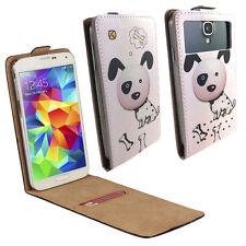 HUAWEI Ideos X3 - Handy Tasche Etui - XS Flip Hund 2