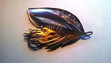 FLY FLYFISHING FISHING TROUT SALMON STEELHEAD CABIN LODGE DECOR METAL WALL ART