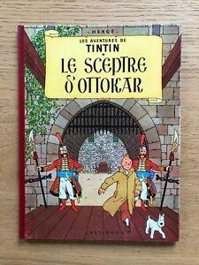Tintin et le sceptre d'Ottokar B31 1962 en excellent état
