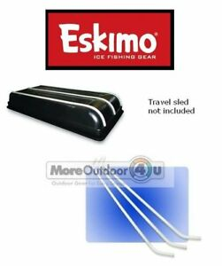 69128 Eskimo QUICKFLIP 3 FLIPMO 2 INFERNO Tracking Kit Tub Sled Protector Runner