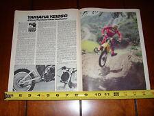 1980 YAMAHA YZ125 - ORIGINAL ARTICLE YZ 125