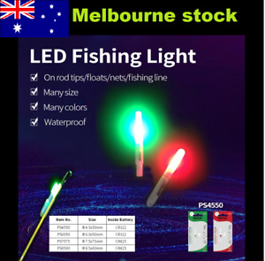 USB rechargeable Glowstick LED electronic Fishing rod tip Light Indicator