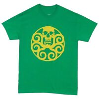 Captain America Hydra Symbol Marval Comics Licensed Adult T Shirt