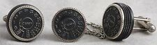 Vintage Canon Shutter Dial Cufflings and TieTac, Great Gift