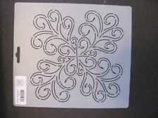 Quilting Bj15 Swirls Block Border Stencil Template Art Craft Paint