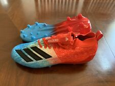 Adidas adizero 8.0 Football Cleats Size 11.5 F35080 Red  White Blue