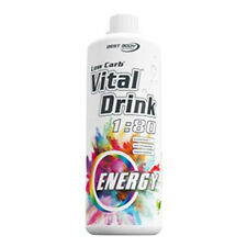Best Body Nutrition Low Carb vital Drink Energy Sirup 60 MG Koffein 1000 Ml