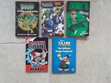 5 Books Turtles Transformers Jamie B Dennis Menace Club Penguin