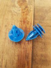 20x JAGUAR X-Type stampaggio/Lato Davanzale Gonna tagliare clip di plastica blu