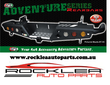 EFS REAR BAR (Heavy Duty Rear Step & Tow Bar) MITSUBISHI TRITON MQ 2015 +