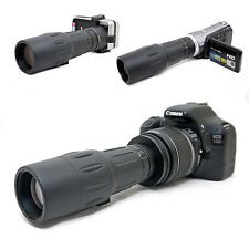 10x 42 1000mm Telescope for Canon EOS Rebel XT 350D Kiss N EF-s 18-55mm Lens