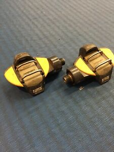Time EX Titan Carbon Clipless Mountain Bike Pedals. Single Sided