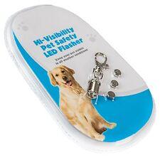 Luz de noche LED Intermitente para mascotas collar de seguridad Tag Impermeable Perro Gato Luz Intermitente