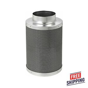 """6"""" Inch Air Carbon Filter Replacement Virgin Charcoal For Inline Fan Grow Room"""