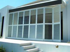 Shutters Aluminium External Custom Made Balcony Alfresco Bifolds Sliders Hinged