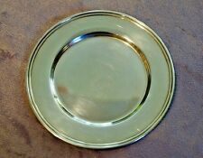 """6"""" Silverplate Tray 1960s-1970s Nice Simple Design"""