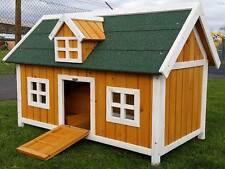 CHICKEN COOP RUN HEN HOUSE POULTRY ARK HOME NEST BOX COOPS RABBIT HUTCH