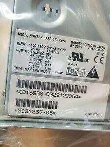 Sony APS-112 RevC 660 watt power supply
