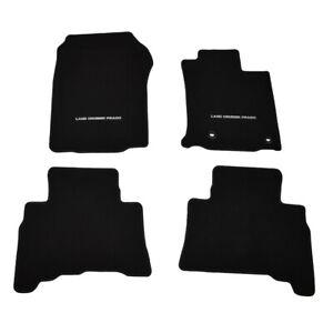 GENUINE TOYOTA PRADO GX GXL 150 SERIES AT FRONT & REAR CARPET MAT SET AUG 13>