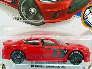 HOT WHEELS VHTF 2016 MUSCLE MANIA SERIES 15 DODGE CHARGER SRT NEW MODEL