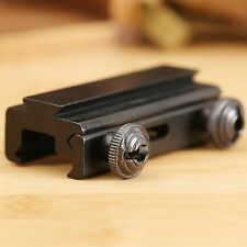 Dovetail Rail Extension 20mm to 11mm Picatinny Weaver Scope Mount Base Adapter