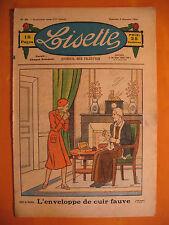 LISETTE N° 49 du 09/12/1934 -14 ème année -éditions de Montsouris